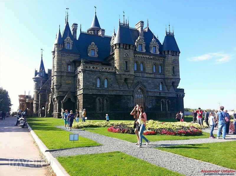 Замок Гарибальди. Пикник в Хрящёвке / Россия