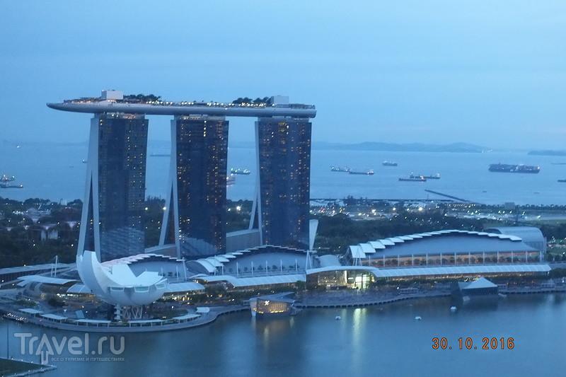 Сингапур. Вечерний город / Сингапур