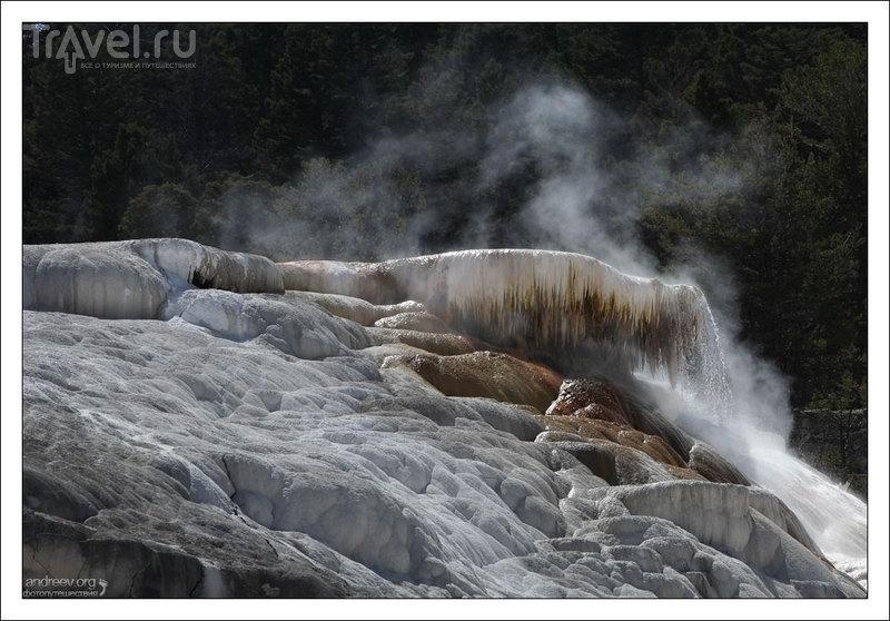 Йеллоустоун: фотографии Мамонтовых террас / Фото из США