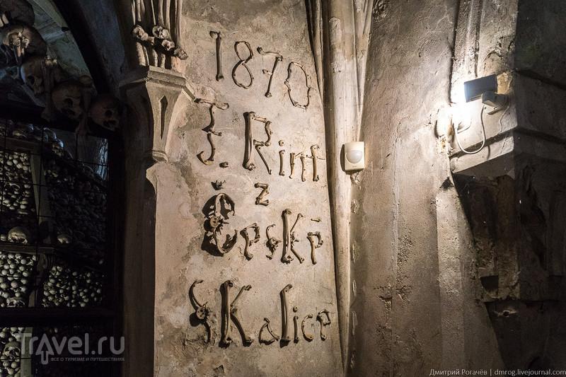 Рытьё могил на благо церкви. Чехия, Кутна Гора / Фото из Чехии