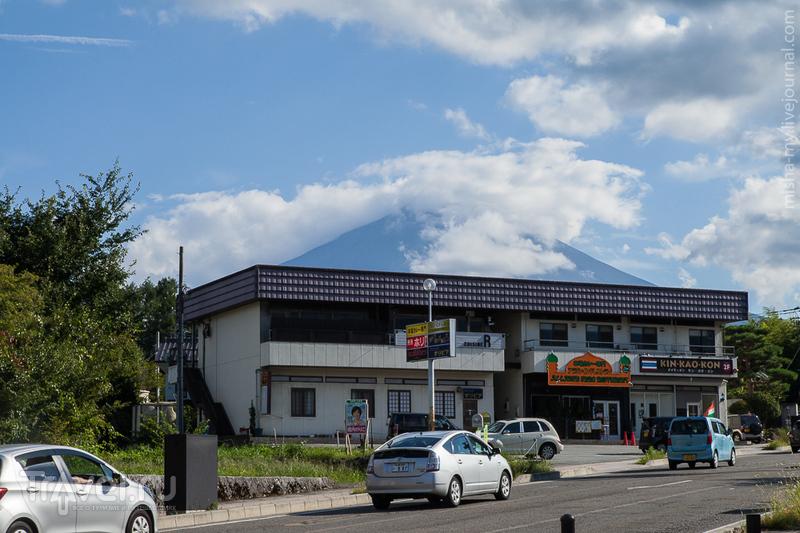 Япония. Спуск с Фудзи и озеро Kawaguchi / Фото из Японии