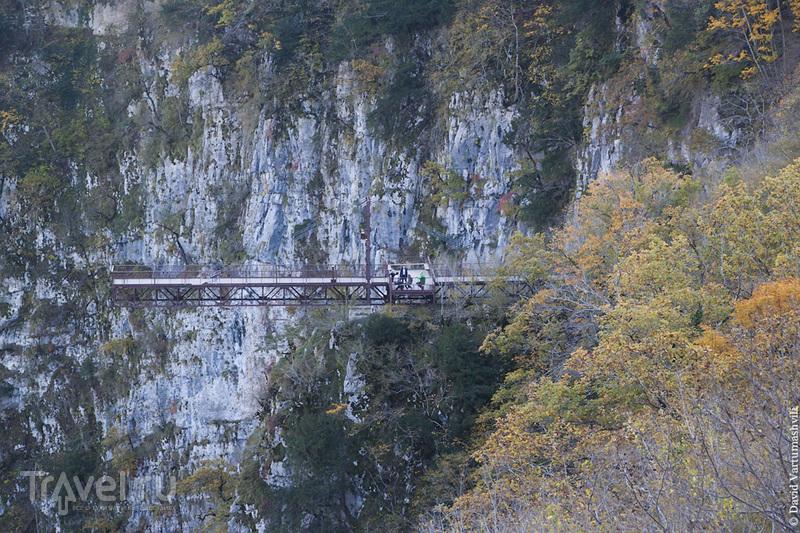 Грузия, каньон Окаце и водопад Кинчха / Фото из Грузии