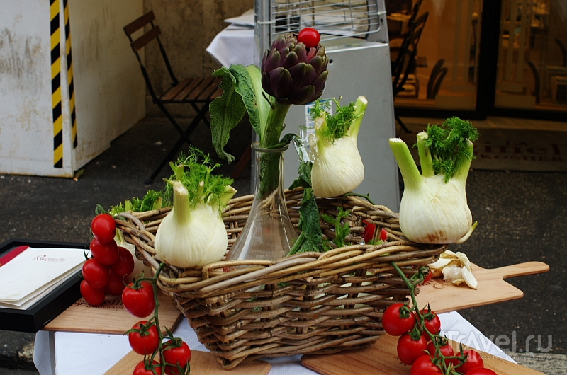 Римская еда / Фото из Италии