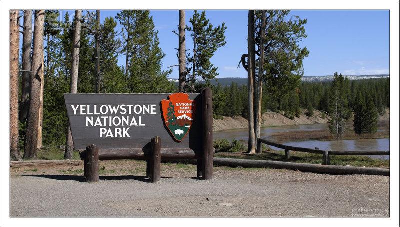 Йеллоустоун: фотографии долины Норриса / США