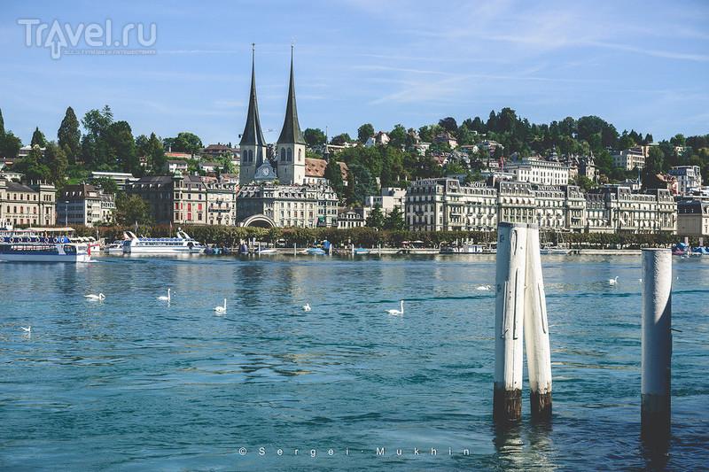 Швейцарский альбом. Открытки из Люцерна / Швейцария