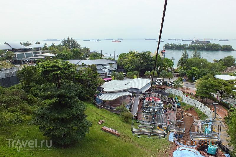 Сингапур. Остров  Sentosa. Башня Tiger Sky Tower. Пляж Siloso Beach / Фото из Сингапура