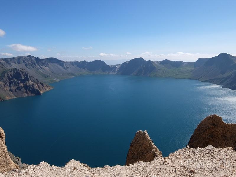 Чанбайшань - уникальное горное озеро и кусочек Северной Кореи / Фото из Китая