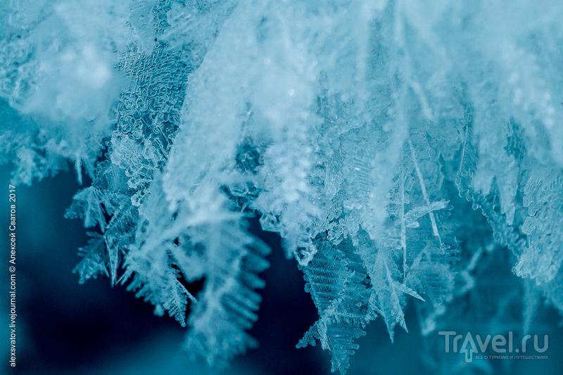Хаос и геометрия льда / Фото из России