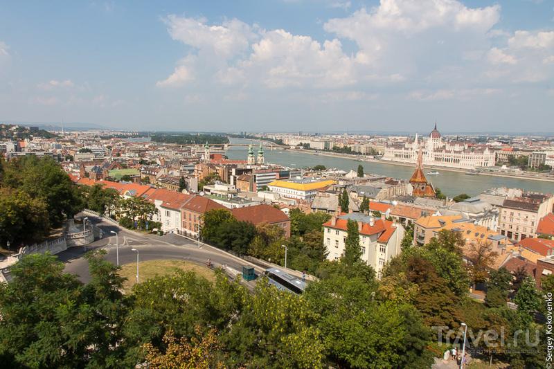 Будапешт: прогулка по Буде, вид на Пешт / Венгрия