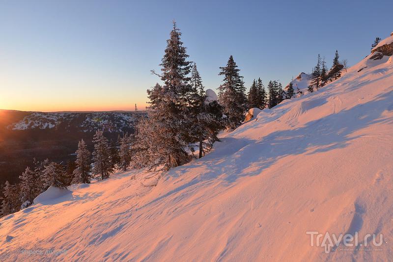 Зимняя сказка Таганая / Фото из России