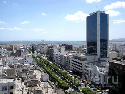 Avenue Habib Bourguiba / Тунис