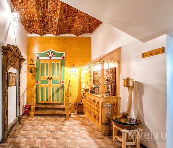 Традиционный интерьер татарской избы