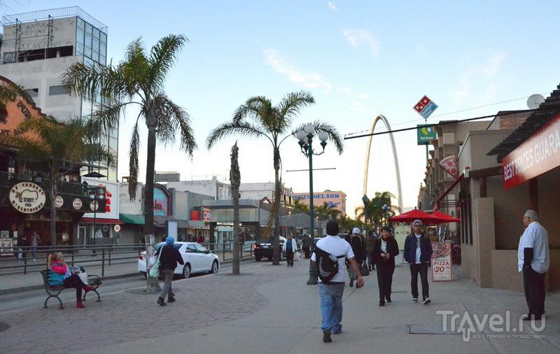 Проспект Революции в Тихуане / Фото из Мексики