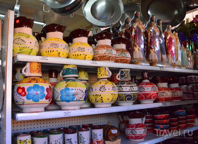 Рынок Mercado Hidalgo в Тихуане / Фото из Мексики
