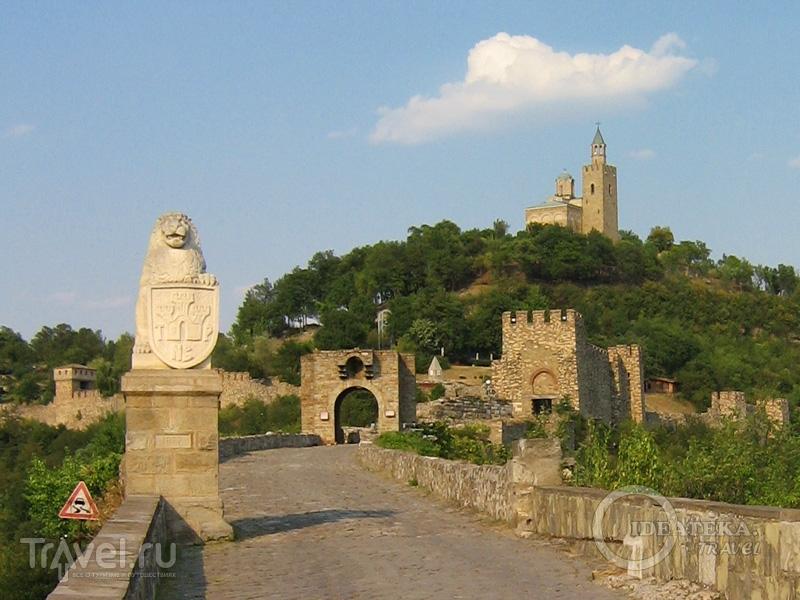 Царевец в Велико-Тырново / Фото из Болгарии