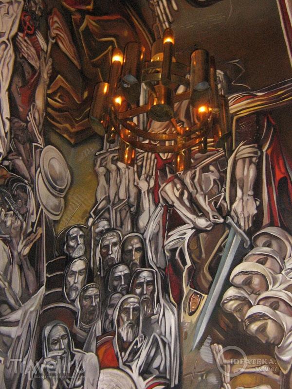Роспись в храме в Велико-Тырново / Фото из Болгарии