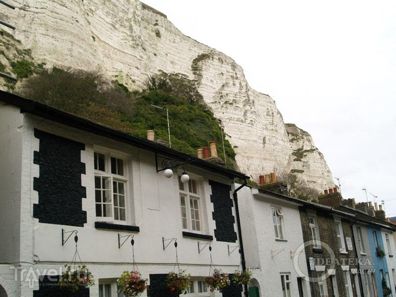 Дома под клиффом / Фото из Великобритании