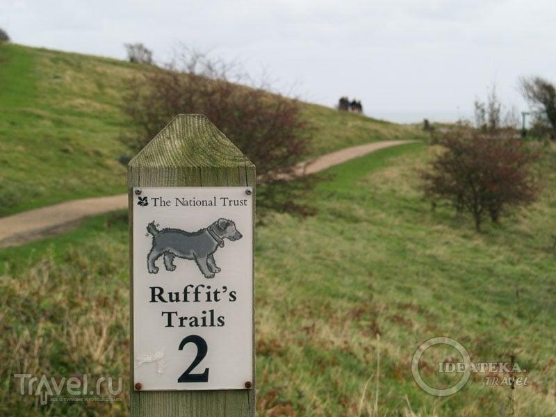 Ruffit's Trails на White Cliffs / Фото из Великобритании