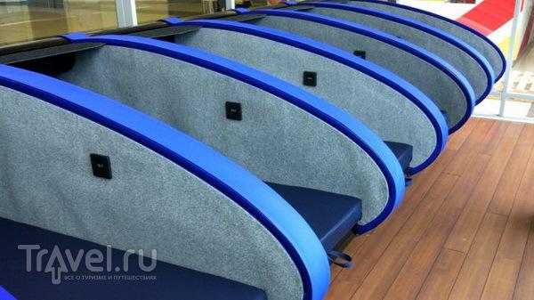 Капсулы для сна в аэропорту Шереметьево