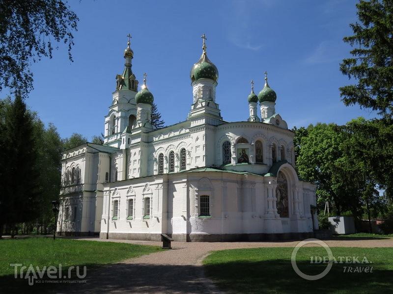Храм в память о погибших воинах на поле Полтавской битвы / Фото с Украины
