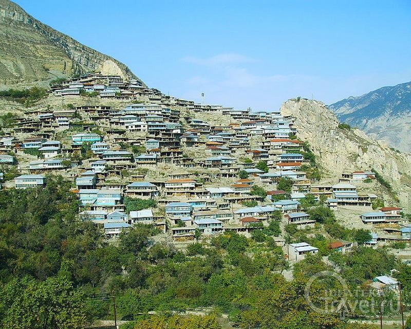 Селение Анчих в Дагестане / Россия