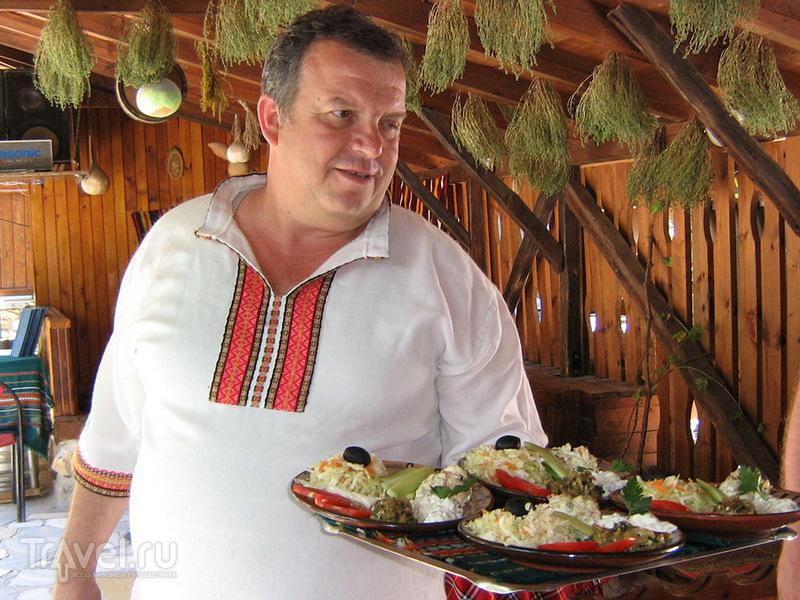 В традиционном болгарском ресторане
