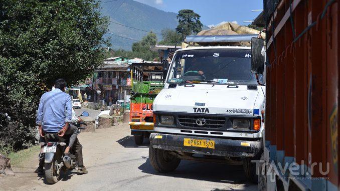 Дорожное движение в Индии / Индия
