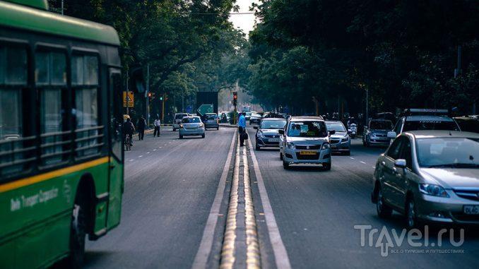 Транспорт в Дели / Индия