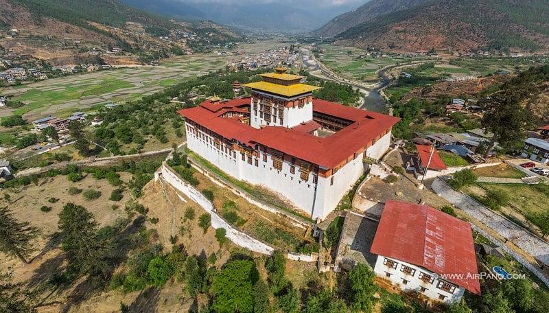 Ринпунг-дзонг, или Паро-дзонг / Фото из Бутана