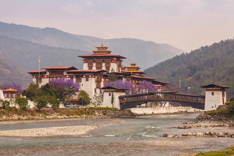 Пунакха-дзонг / Фото из Бутана