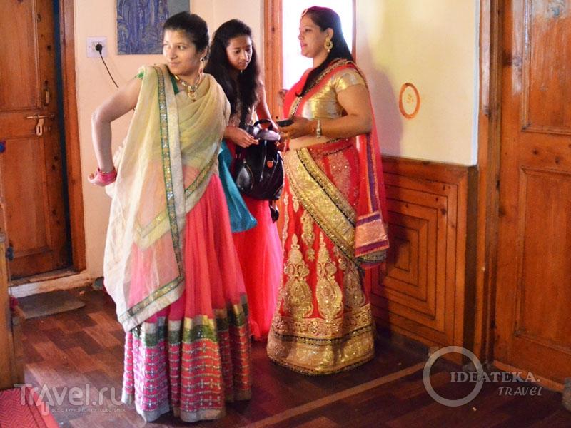 Нарядные девушки в ленга-чоли / Фото из Индии