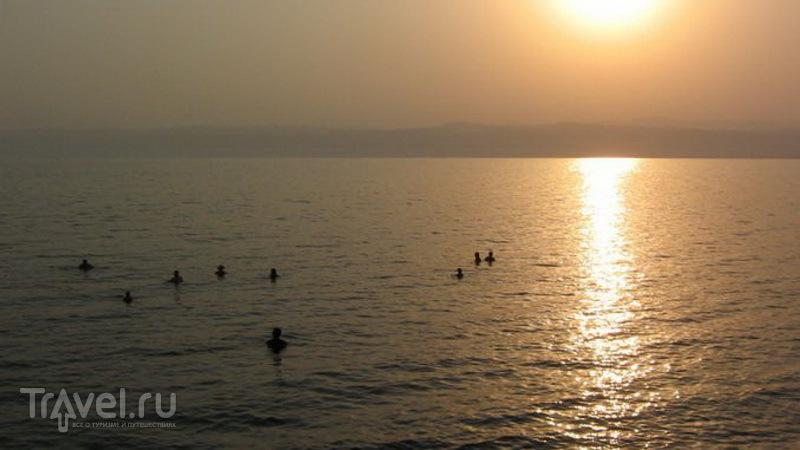 Закат в Иордании / Фото из Иордании