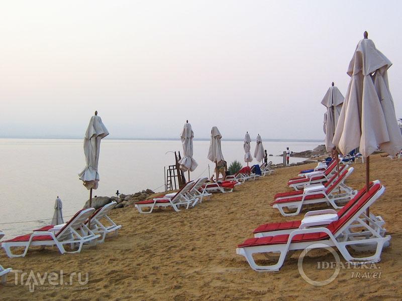 Пляж отеля Kempinski Hotel Ishtar / Фото из Иордании