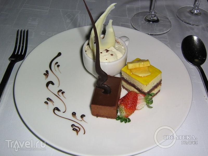 Десерты в отеле Kempinski Hotel Ishtar / Фото из Иордании