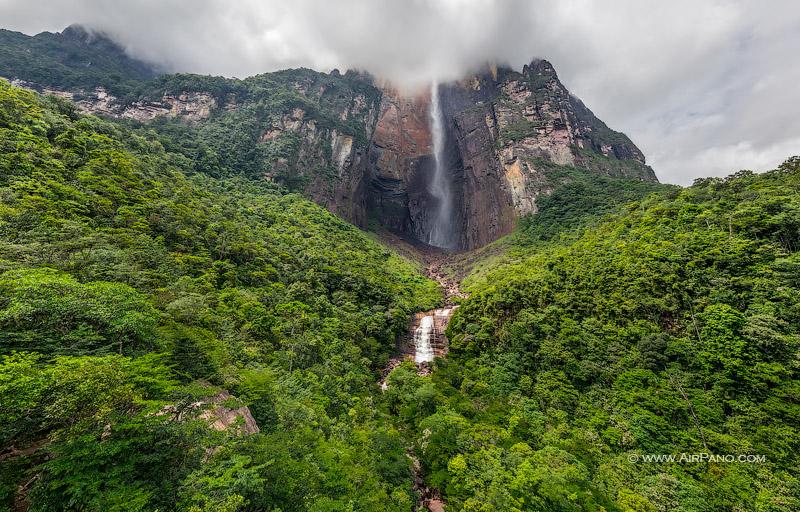 Водопад Анхель / Фото из Венесуэлы