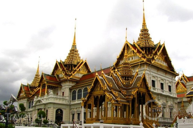 У королевского дворца в Бангкоке / Фото из Таиланда