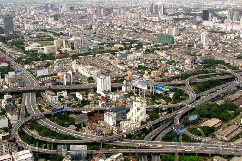 Вид на небоскребы Бангкока со смотровой площадки Байок-Скай / Фото из Таиланда