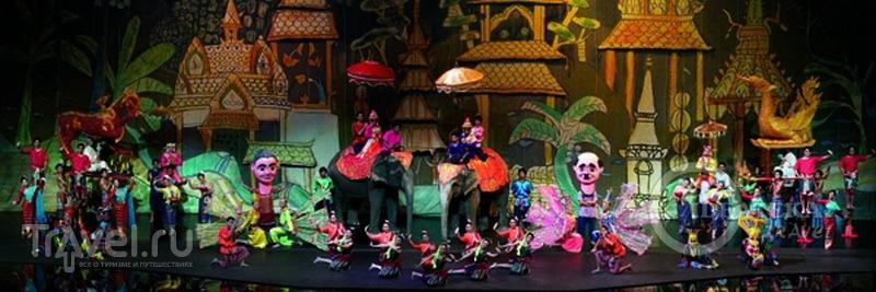 На шоу Siam Niramit в Бангкоке, Таиланд / Фото из Таиланда
