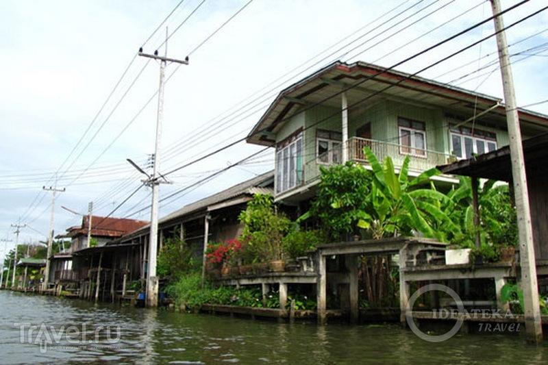 Дома на канале в Таиланде / Фото из Таиланда