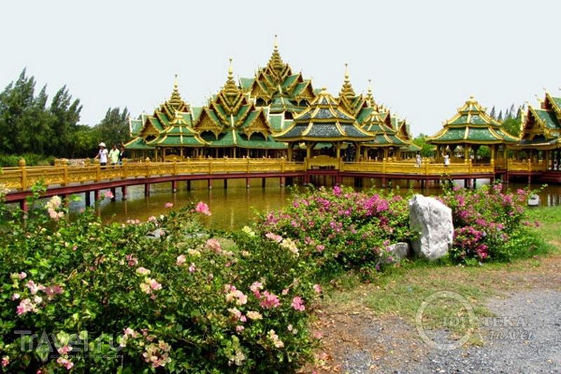 Макет храма в парке Мыанг-Боран / Фото из Таиланда