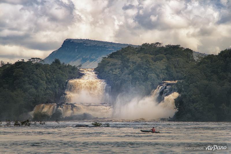 Водопад Укайма / Фото из Венесуэлы