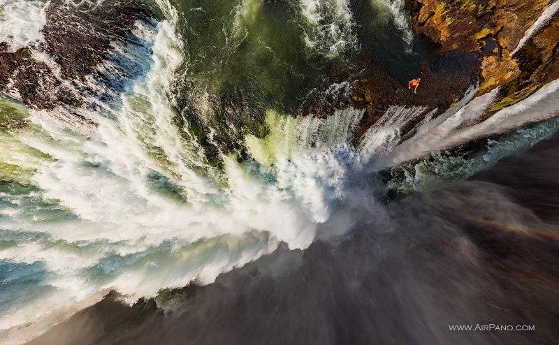 Водопад Виктория, Замбия-Зимбабве / Фото из Зимбабве