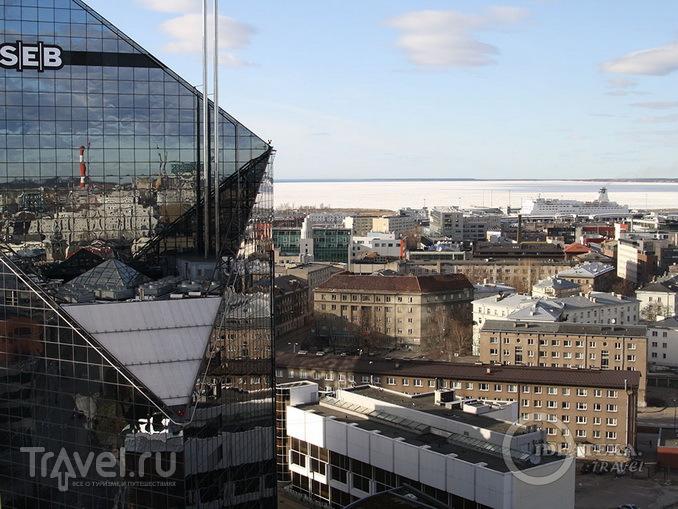 Вид из окна отеля Swissôtel Tallinn / Эстония