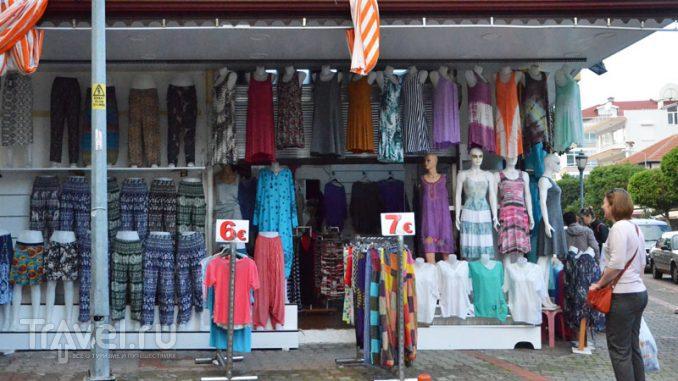 Торговля на улицах Аланьи / Турция