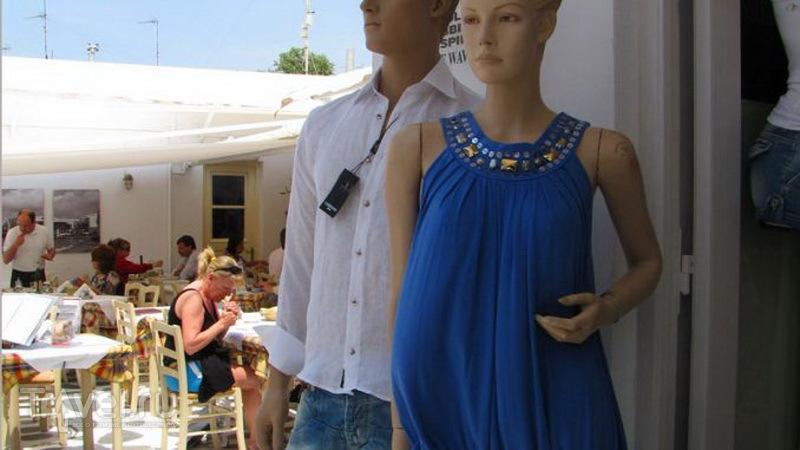 Торговля одеждой в Греции / Греция