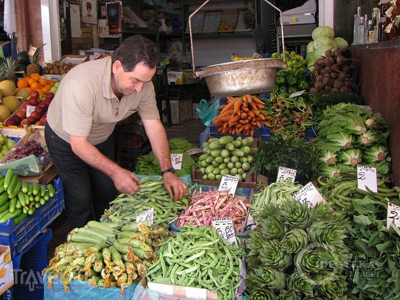 Торговля овощами в Греции / Греция