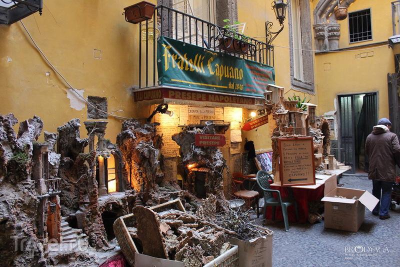 Неаполитанское презепе / Фото из Италии