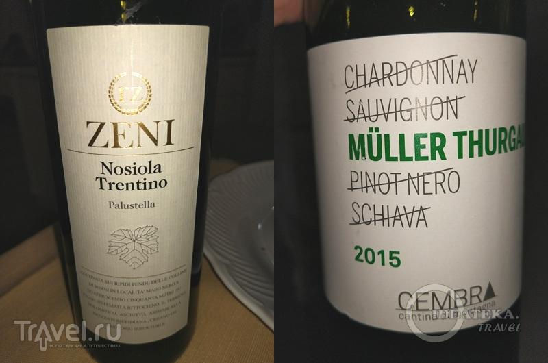 Nosiola и Muller Thurgau / Италия
