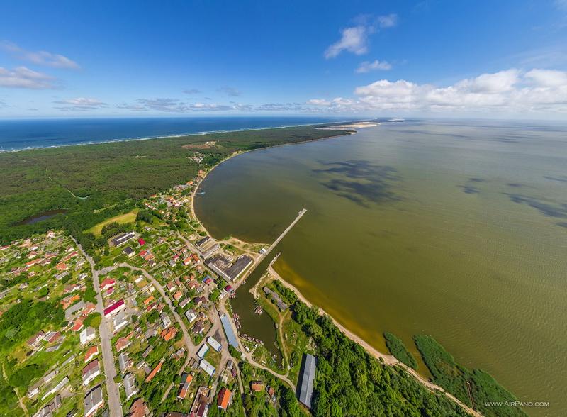 Поселок Рыбачий / Фото из Литвы