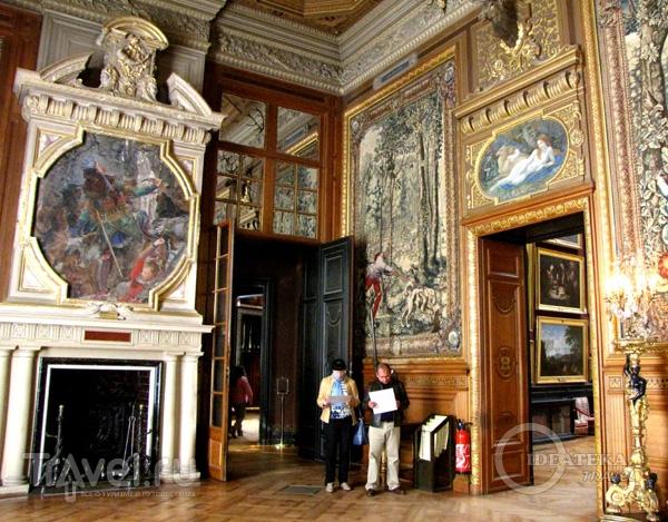 Картинная галерея замка Шантийи / Фото из Франции